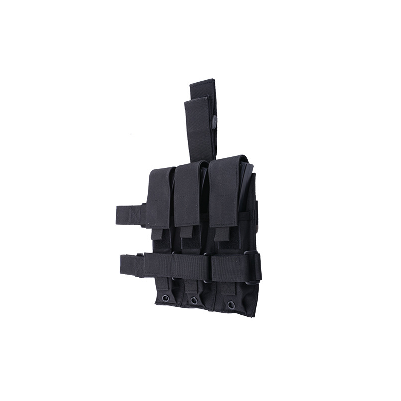GFC Triple leg pouch for the MP5 type magazines - black