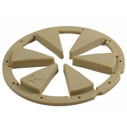 Exalt speed feed rotor Marron