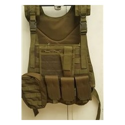 GFC MOLLE Tactical vest CIRAS Maritime type w/pockets -Olive