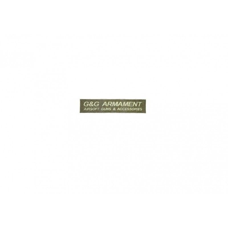 G&G ARMAMENT AIRSOFT GUNS & ACCESSORIES PATCH