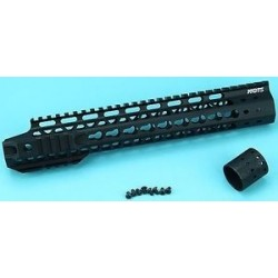 12.5 Inch Upper Cut Keymod Handguard for MSeries AEG NOIR