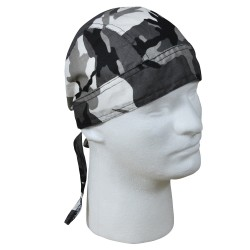 Headwrap Winter camo