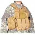 Veste SWISS ARMS Tactique CRS beige