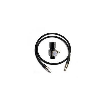 BALYSTIK Régulateur HPR800C V2 + ligne haut débit - Noire