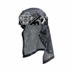 Head Wrap Bandana Black