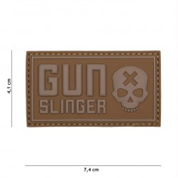 Patch 3D PVC Gun Slinger coyote