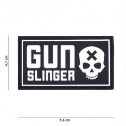 Patch 3D PVC Gun Slinger black