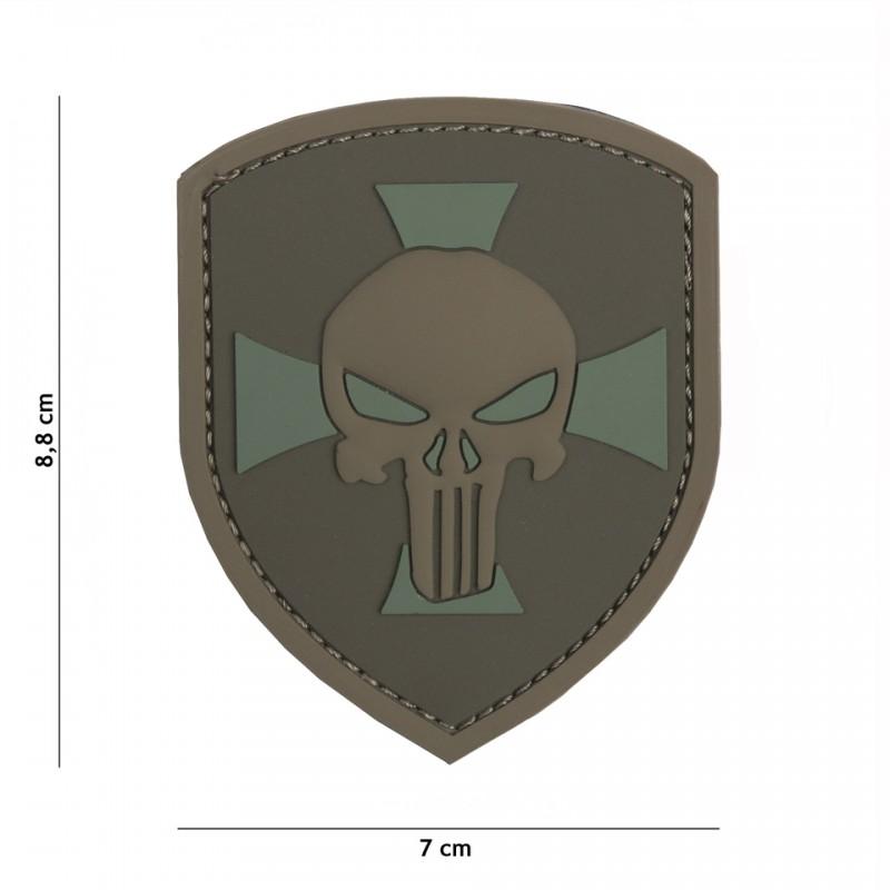 Patch 3D PVC Shield coyote