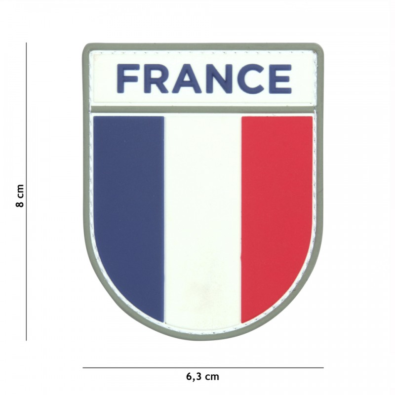 Patch 3D PVC French army
