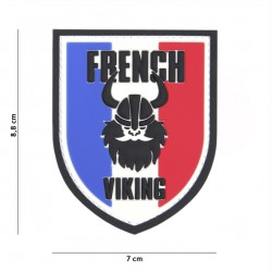 Patch 3D PVC French Viking multi