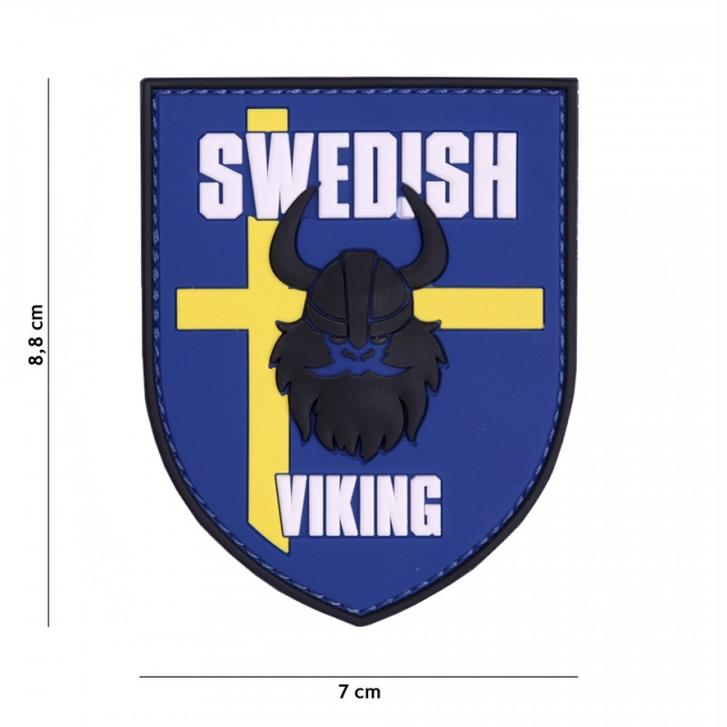 Patch 3D PVC Swedish Viking