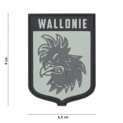 Patch 3D PVC Wallonie