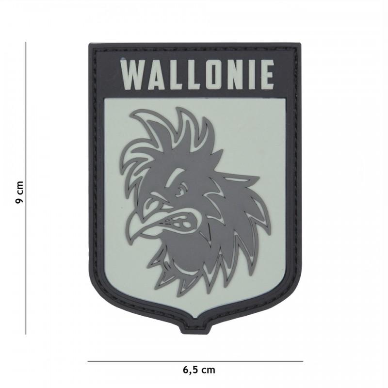 Patch 3D PVC Wallonie
