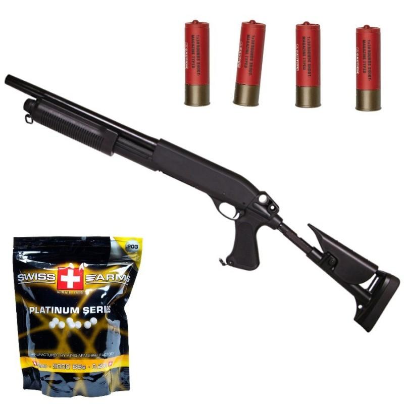 Pack Shot gun
