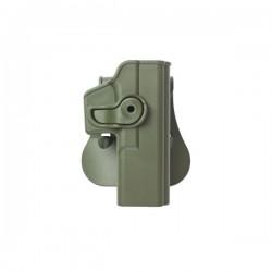 Holster rigide G17,G18,G19 vert