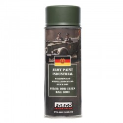 Bombe Peinture Militaire 400mL DDR GREEN