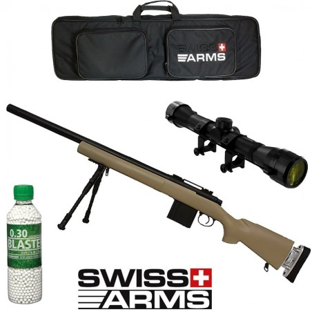 Pack SWISS ARMS SAS 04 Tan
