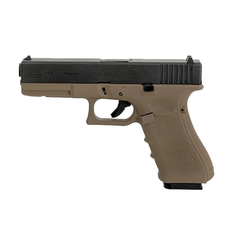 Glock 17 Gen4 - tan blowback