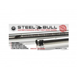 Barrel, Stainless Steel, 6,03x363mm