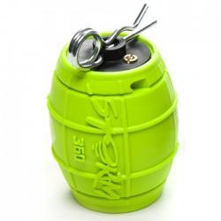 Grenade airsoft Storm 360 ASG, vert fluo