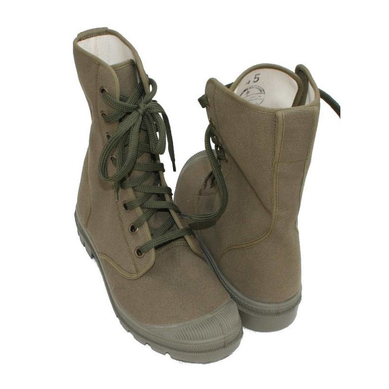 CHAUSSURE TOILE MILITAIRE KAKI Taille 43