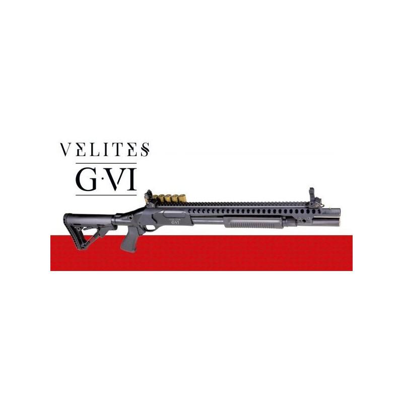 FUSIL A POMPE VELITES G-VI NOIR SECUTOR