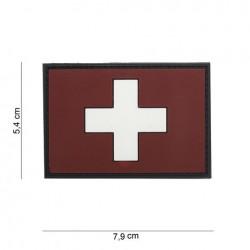 Patch 3D PVC :  Suisse