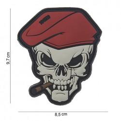 """Patch 3D PVC  """" skull sigar """""""