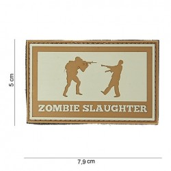 "Patch 3D PVC "" Zombie slaughter """