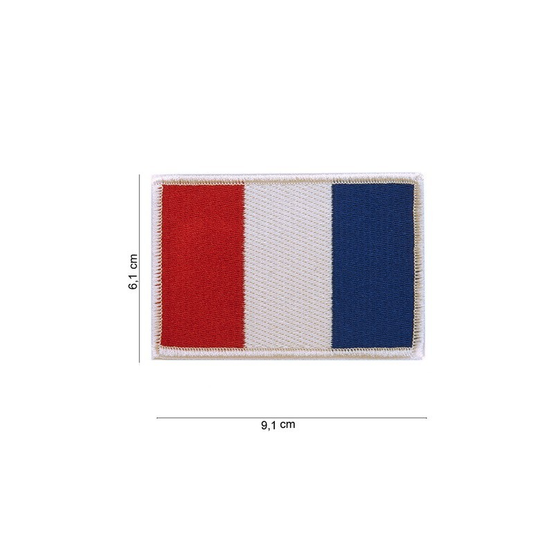 "Patch "" drapeau France """