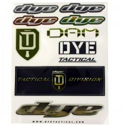 Planche autocollants Dye Tactical