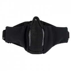 Metal Mesh pad with cheek pad Black