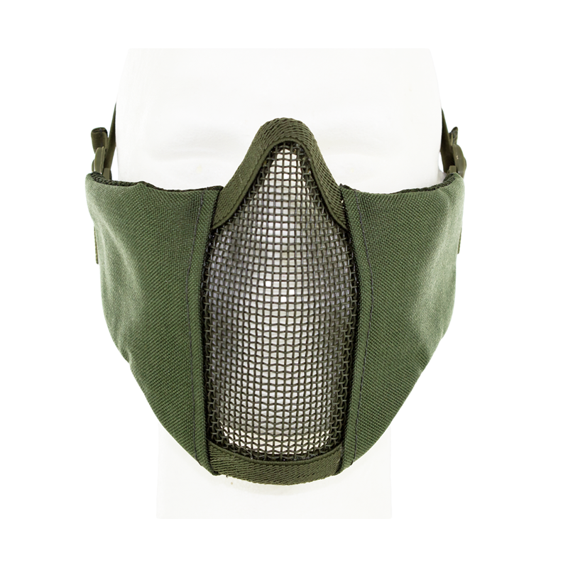 Metal Mesh pad with cheek pad Green
