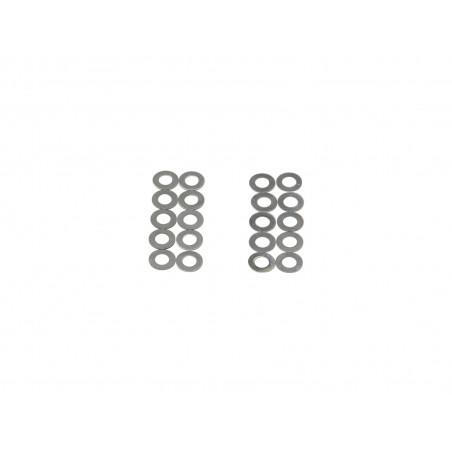 Shim set, 10 pcs. 0,15mm, 10 pcs. 0,3mm