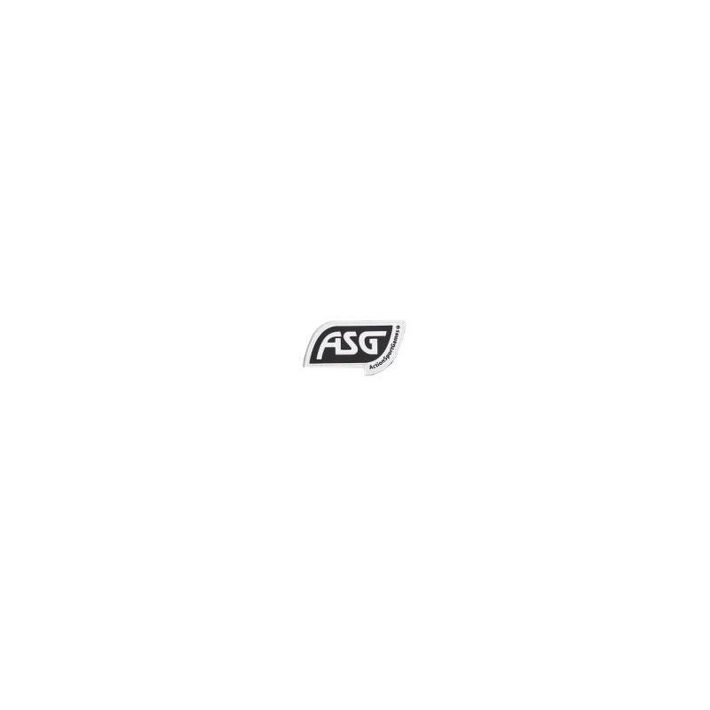 ASG PVC Patch, Velcro, Black