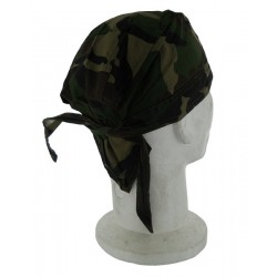 Head Wrap Black Eagle Camo