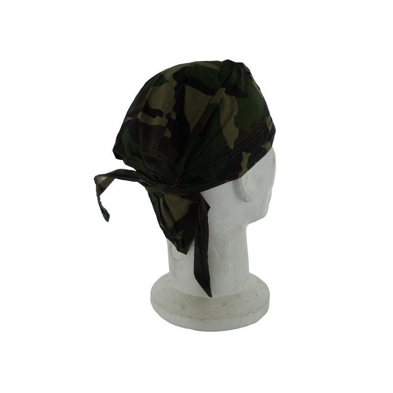 Head Wrap Black Eagle Camo