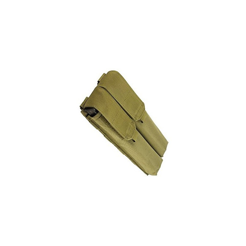 PANTAC MOLLE P90 / UMP Double Magazine Pouch (Cordura / Khaki)