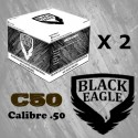 Le Lot de 2 Cartons de 4000 billes C50 Black Eagle
