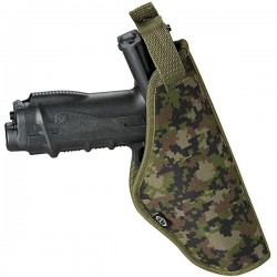 BT Tactical Holster Paintball Harness - Woodland Digi - Petit modèle