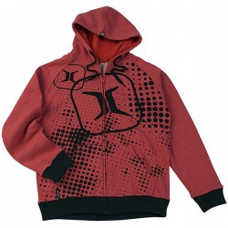 Empire Invert Hoodie ZE Halftone Red taille XL