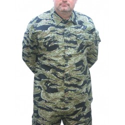 Veste camouflage Tiger Stripe Taille XL [Black Eagle]