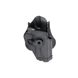 Holster polymer paddle droitier noir pour Sig SauerSP2022