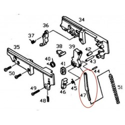 Barre de marteau pour KJW / ASG M9