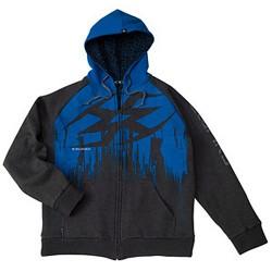 Veste a capuche Empire ZE Splash Blue XXL