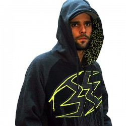 Hoodie Empire ZE Splash Yellow L