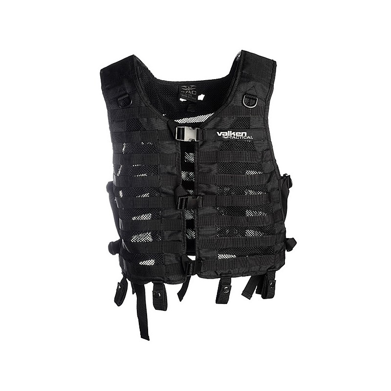 Gilet tactique airsoft Tango Black Tactical XS-M