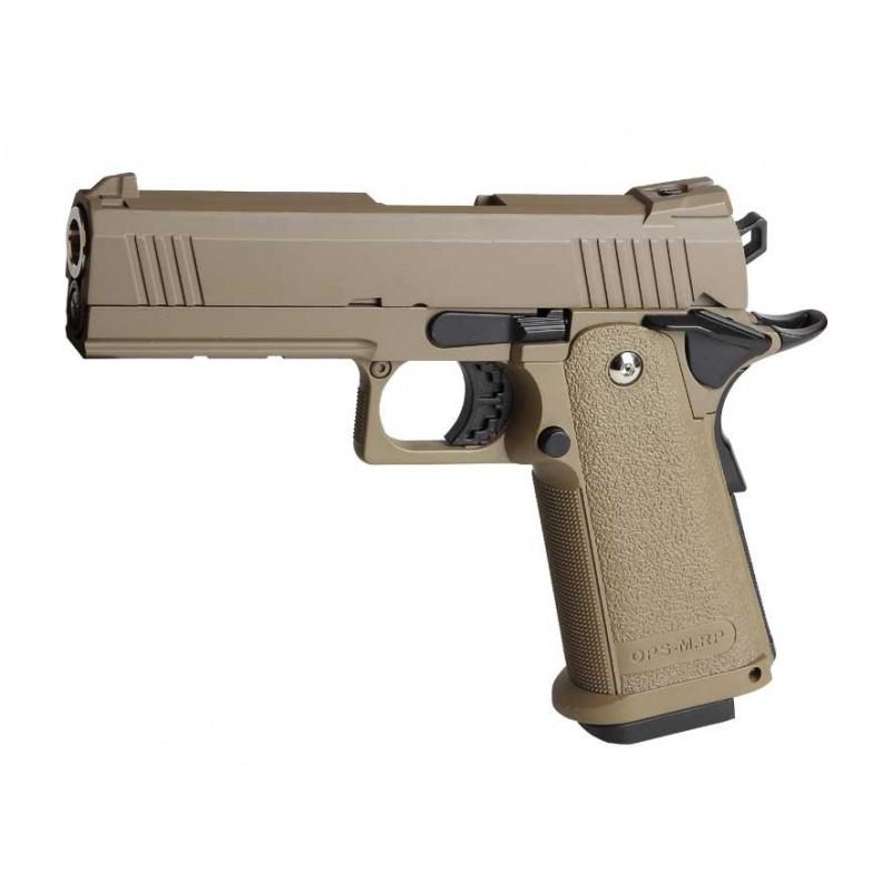 REPLIQUE DE POING Pistol gun tan