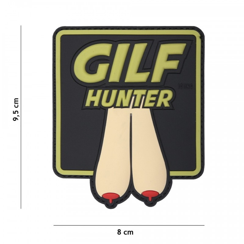 Patch 3D PVC Gilf Hunter coyote large