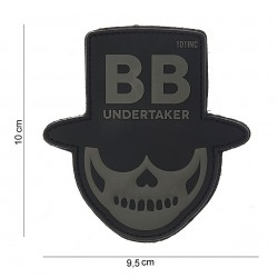 Patch 3D PVC : BB undertaker gris